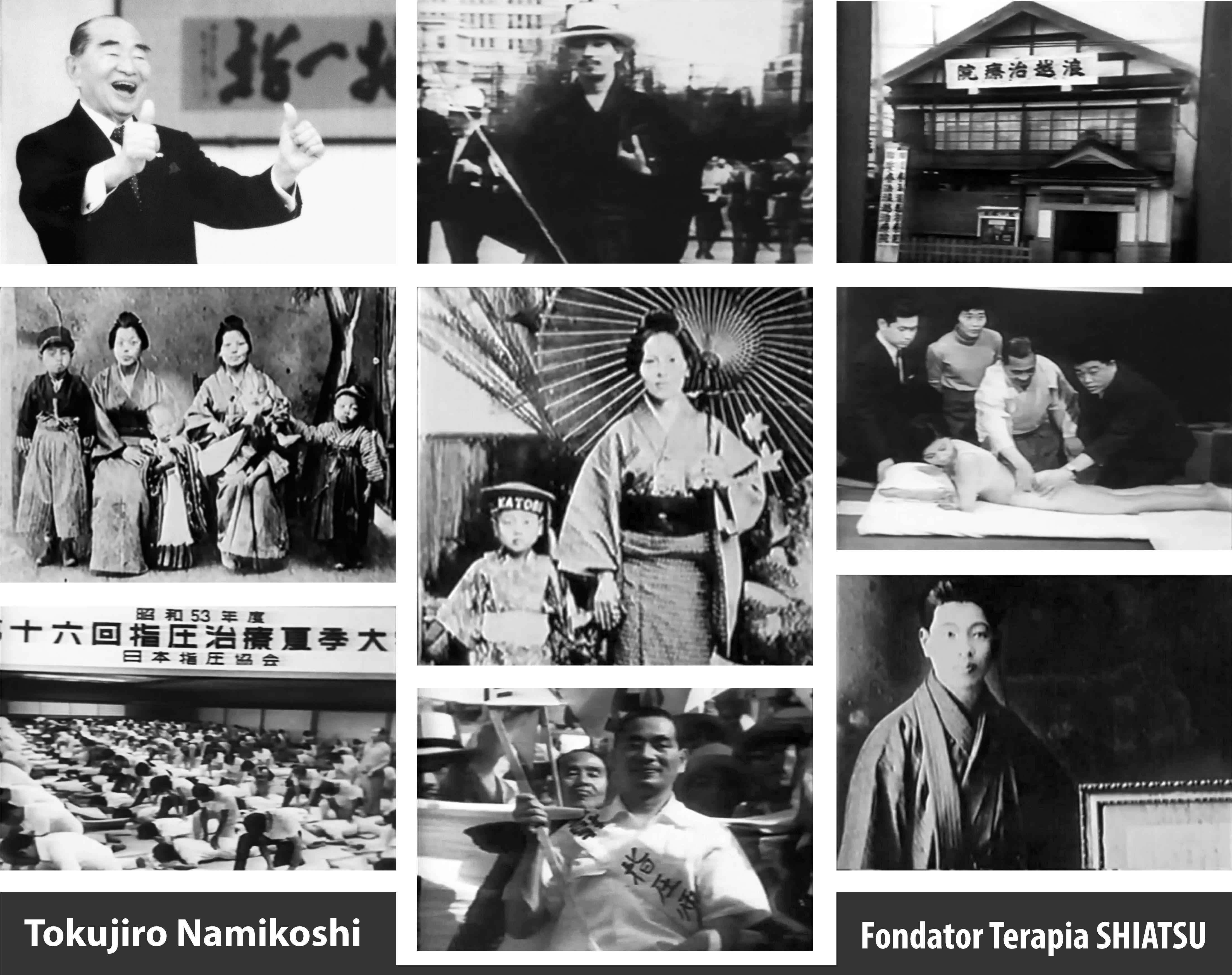 Tokujiro Namikoshi Fondator Terapia Shiatsu
